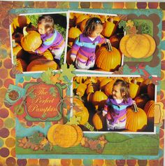 The Perfect Pumpkin - Scrapbook.com