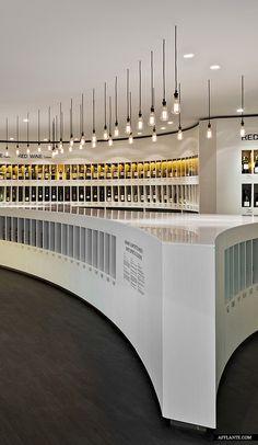 ♂ Retail space Commercial design Diageo concept store // Fourfoursixsix