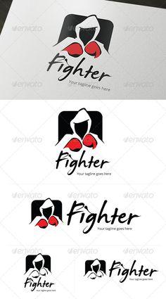 Fighter Entertainment Logo — Vector EPS #fighter #graffiti • Available here → https://graphicriver.net/item/fighter-entertainment-logo/4794837?ref=pxcr
