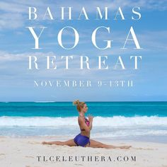 ONLY 5 rooms left!! Join me this November 9-13th in Eleuthera Bahamas for my 3rd annual Yoga Retreat. Spend 5 days & 4 nights practicing learning exploring and relaxing at a private beach resort in Eleuthera Bahamas.  ALL INCLUSIVE - we will have a private chef on site to make all our meals. We will practice daily beach yoga and evening yoga workshops to help you grow in your practice. Eleuthera is my favorite place in the world and I can't wait to share it with you. . $2100 for a private…