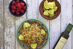 Antihistamine & anti-inflammatory rich thai rice salad the low histamin Quorn Recipes, New Recipes, Whole Food Recipes, Vegan Recipes, Detox Recipes, Yummy Recipes, Dinner Recipes, Anti Histamine Foods, Thai Rice
