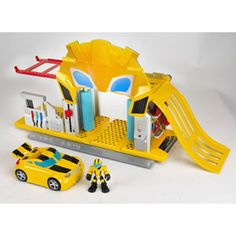 Transformers Rescue Bots Bumblebee Rescue Garage Playset