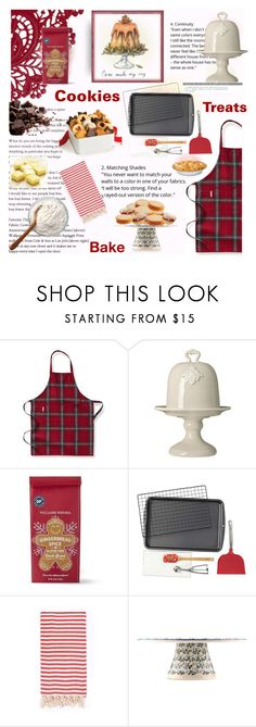 """Holiday Gift Baking"" by taste-for-life ❤ liked on Polyvore featuring interior, interiors, interior design, home, home decor, interior decorating, Williams-Sonoma, Bellini Sara, Wilton and Turkish-T"