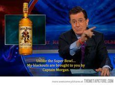 Why I love Stephen Colbert…