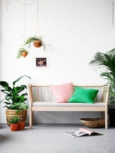 Home Decoration In Pakistan Ikea Sofa, Ikea Chair, Ikea Plants, Chairs For Rent, Ikea Living Room, Retro Home Decor, Decorating Small Spaces, Beautiful Interiors, Home Decor Inspiration