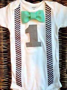 Boys First Birthday Outfit  Baby Boy Clothes  Grey by SewLovedBaby, $23.99