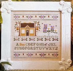 A Bee C Sampler by Country Cottage Needleworks by NeverEnoughStash, $8.10