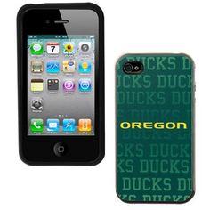 Oregon Ducks Guardian iPhone 4/4S Case - Green