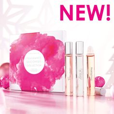 Scent by Style .......3 roll on fragrances - Love & Courage - Fleurever - NEW Breathtaking Just 29.90 for boxed set