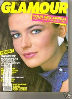 Paulina Porizkova - Glamour Magazine Cover [United States] (September 1983)