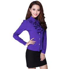 The business shirts are very reliable. The women can wear it in the workplace and also in any official meeting or seminar without the fear of becoming uncomfortable.