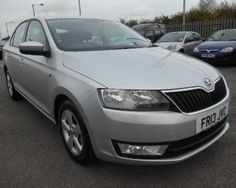 Used 2013 (13 reg) Reflex Silver Skoda Rapid 1.2 TSI SE 5dr for sale on RAC Cars