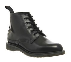 Buy Black Buttero Exclusive Dr. Martens Emmeline Lace Up Boots from OFFICE.co.uk.