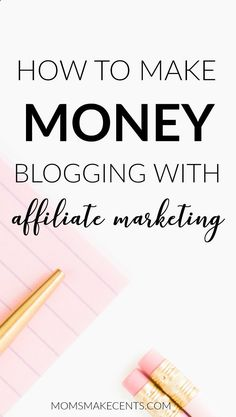 Wondering how affiliate marketing works? Is it the right way to monetize your blog. Then you need to read this post How To Make Money Blogging With Affiliate Marketing. It goes over the pros and cons of affiliate marketing   what you realistically can earn.