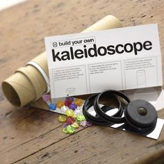I've just found Build Your Own Kaleidoscope. A fun present for any curious child.. £9.15