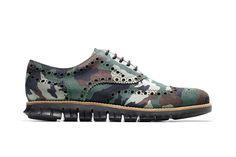 Cole Haan ZeroGrand Wing #Oxford #shoe #camo