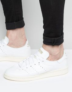 d78bf5119 Shop adidas Originals Stan Smith Deconstructed Trainers In White at ASOS.