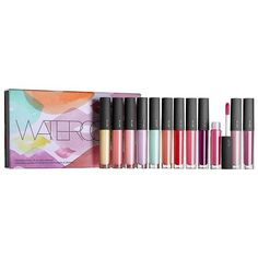 Water Colour  Lip Gloss  Library Bite Beauty