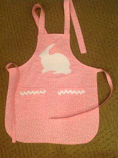 Caroline's Easter apron!