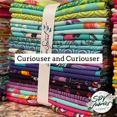 """SPV Fabrics on Instagram: """"♥️ Have you seen the newest collection by Tula Pink? ♠️Curiouser and Curiouser is Tula's take on Alice in wonderland, including the Queen,…"""" Have You Seen, Alice In Wonderland, Fabrics, Queen, Pink, Collection, Instagram, Art, Tejidos"""