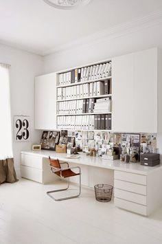 Ordnungssystem Im Büro Büroeinrichtung Schreibtisch Ideen | Büro    Büromöbel   Schreibtisch   Home Office | Pinterest | Spaces