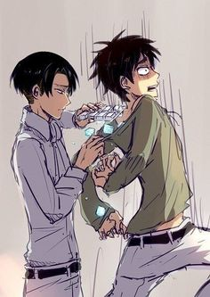 cute eren x levi - Google Search