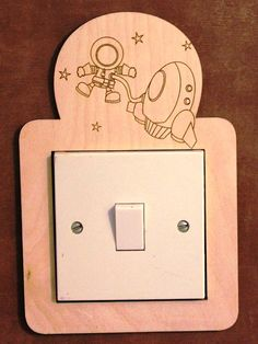 More Decorative switch surrounds by PimpernelPuzzles on Etsy School Projects, Projects To Try, Laser Cutter Projects, Make And Sell, How To Make, 3d Puzzles, Scroll Saw, Woody, Decoration
