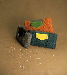 Le Galon in versione pop! lana lavorata ai ferri e plexi i colorazioni pop rendono informale l'eleganza
