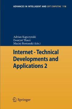 Internet – Technical Developments and Applications « Library User Group