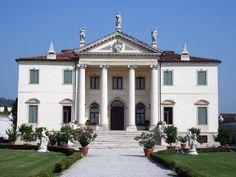 vicenza villa palladio 1 rivistasitiunesco.it Renaissance Architecture, Classical Architecture, Architecture Design, Andrea Palladio, Italian Life, Italian Villa, Villa Palladio, Padua Italy, Villas In Italy
