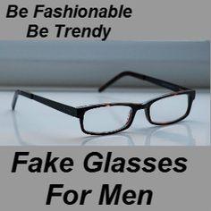 8d8551f0c7 Fake glasses for men - the latest fashion trend Clear Glasses Fashion
