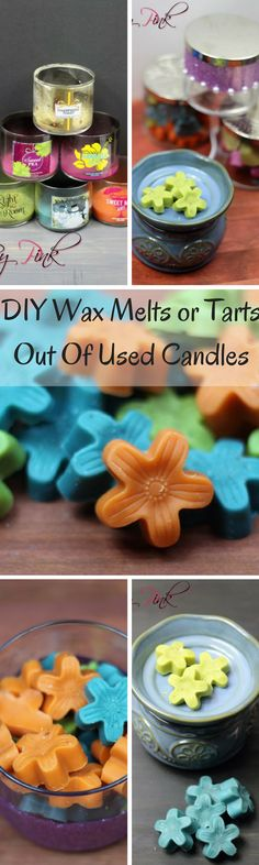 DIY Wax Melts or Tarts Out Of Used Candles häkeln How To Make Wax Melts From Your Bath and Body Works Candles ⋆ by Pink häkeln Old Candles, Candle Wax, Candle Melts, Diy Wax Melts, Candle Making Business, Wax Burner, Diy Cupcake, Homemade Candles, Diy Candles Scented