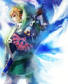 "Day 7: your favorite ""Link"". I'm going with Link from SS. I am a huge fan of each and every Link but this Link did not strike me as just a hero, he did not know he was destined to save the vast surface he only knew that he needed to save the girl he loved. That's why he is my favorite ""Link""."