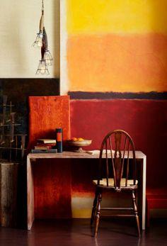 Colori pareti arancione colori pareti come dipingere le - Dipingere casa colori di moda ...