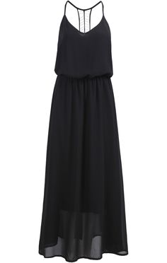 To find out about the Black Spaghetti Strap Chiffon Maxi Dress at SHEIN, part of our latest Dresses ready to shop online today! Chiffon Maxi Dress, Dress Skirt, Midi Dresses, Long Kurti With Jeans, Lil Black Dress, Black Maxi, Maxi Robes, Maxi Styles, Different Dresses