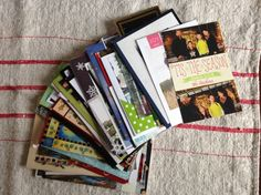 New Year's tradition with Christmas cards…..what we do with all the cards we receive…...