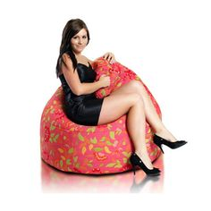 Bean Bag Chair Upholstery Souvenir Pink
