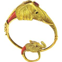 A Coral Gold Mama and Baby Elephant Suite from kimberly-klosterman on RubyLUX