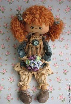 Коллекционные куклы ручной работы. Ярмарка Мастеров - ручная работа Глашенька…