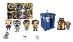 """""""Doctor who pop"""" by hungergames11 ❤ liked on Polyvore featuring interior, interiors, interior design, дом, home decor и interior decorating"""