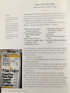 Ribs In Oven, Country Style Pork Ribs, Screen Doors, Sweet Tea, Pork Recipes, Beef, Cooking, Food, Essen
