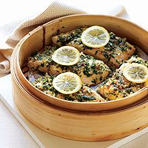 WW - Herb and spice steamed fish