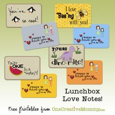 Lunchbox Love Notes Preview