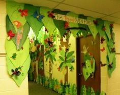 Rainforest Classroom -- Trees/Decoration