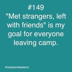 This is a great goal for #SummerCamp, and one that happens so often!