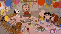 Snoopy and the gang Charlie Brown birthday Charlie Brown Quotes, Charlie Brown And Snoopy, Snoopy Images, Snoopy Pictures, Peanuts Cartoon, Peanuts Snoopy, Snoopy Wallpaper, Disney Wallpaper, Channel Awesome