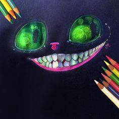 We are all mad here Pencil illustration 💛