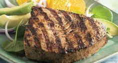 Caribbean Grilled Tuna: Caribbean Grilled Tuna is an easy-to-prepare summer meal that has the delicious flavor and heat of the islands.