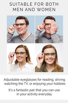 """""""These glasses are nothing short of amazing. I am farsighted, and have 3 lenses in a pair of glasses that is now broken. Because the price of glasses is now so Lenses, Pairs, Future, Reading, Women, Future Tense, Women's, Reading Books, Libros"""