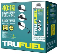 TruFuel 40:1 Pre Mixed 2 Cycle Small Gas Engine Powered Equipment Fuel (6-Pack) #TruFuel